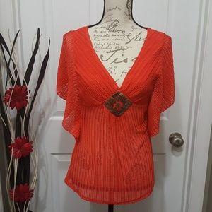 Heart and Soul Knit blouse (free Tassle Earrings)